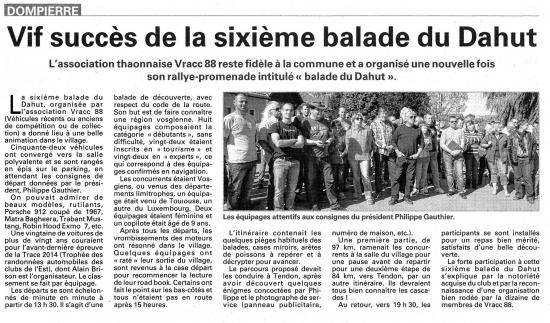 Article 1 octobre 2014